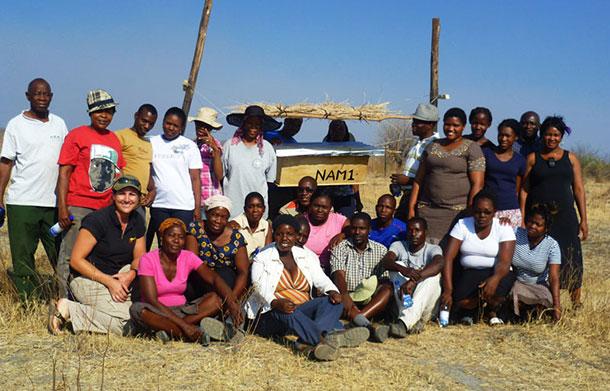 Chobe beehive fence farmers