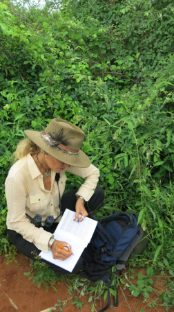 Anne recording notes
