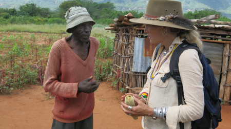 Anne with Wabongo