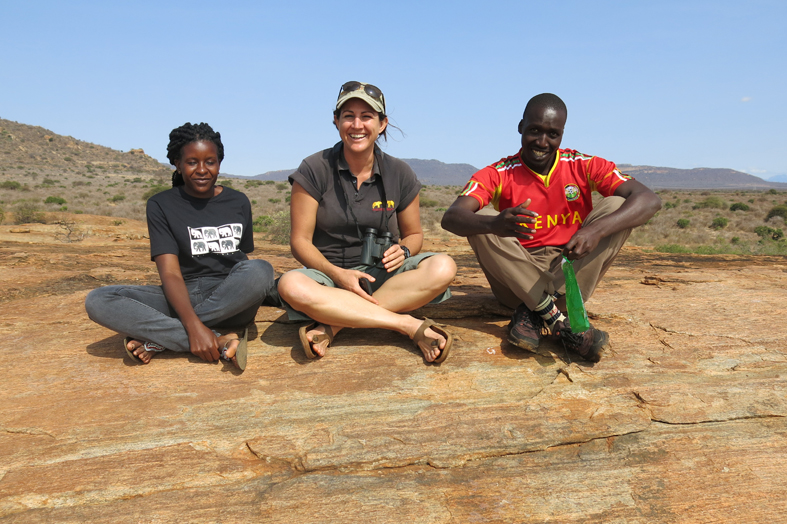 Sitting-on-rock-in-Tsavo