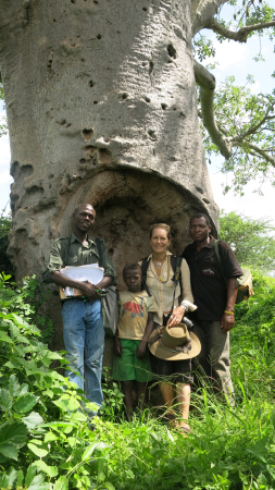 Team in baobab