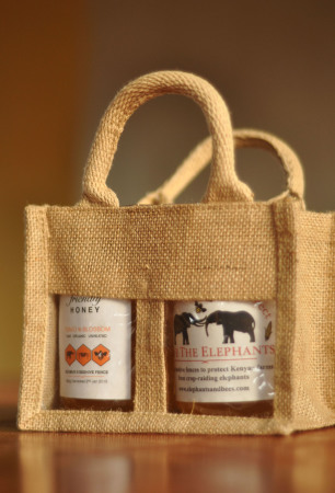 Jars in bag (s)