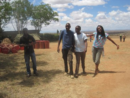 STE team (Kimanzi, Michael, Nelson & Gloria)